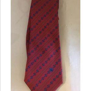 Gucci Silk Chain Design Tie